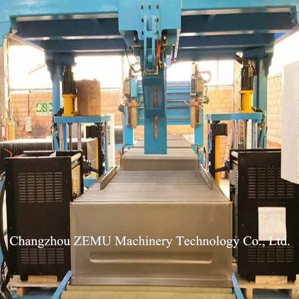 Automatic Transformer Radiator Fin Welding Machine