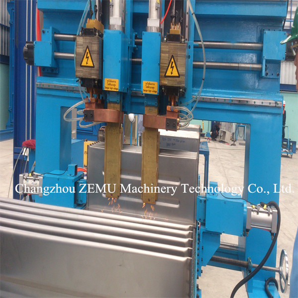 Corrugated Fin Spot Welder Machine for Embossment
